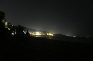 Light pollution research in Argostoli